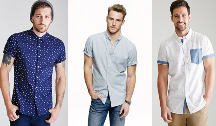 short-sleeve-button-down-best-short-sleeves-for-men-2015-2016