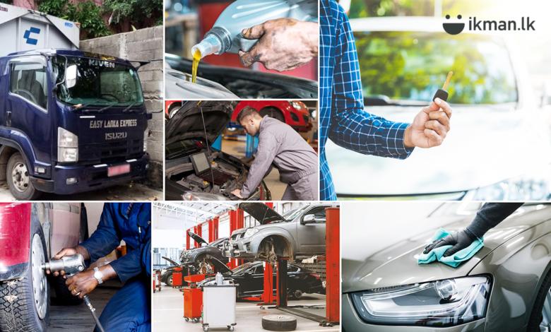 Auto Services on ikman