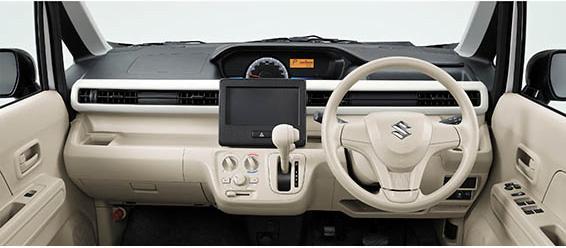 Suzuki Wagon R Interior View
