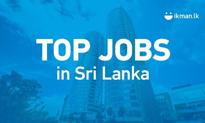 2021's 10 Top Jobs in Demand in Sri Lanka